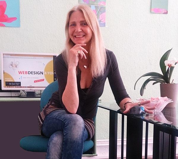 Caroline Kaiser, Sisonke Webdesign Wien