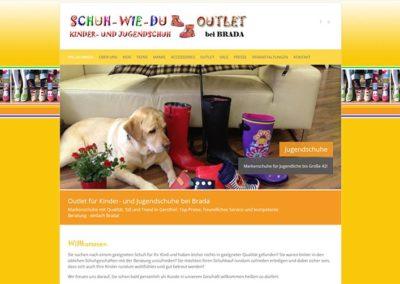 Website Kinderschuhe