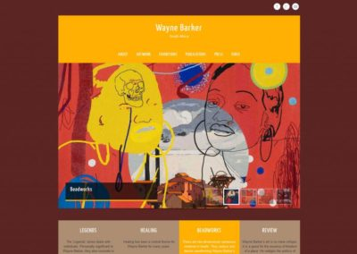 Website Wayne Barker