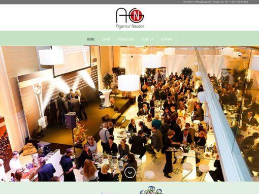 Website Veranstaltungsagentur