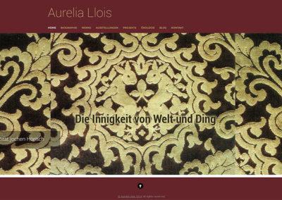 Website Aurelia Llois