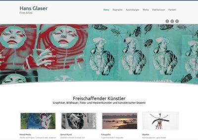 Website Hans Glaser
