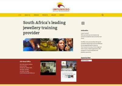 Website Schmuckdesignschule