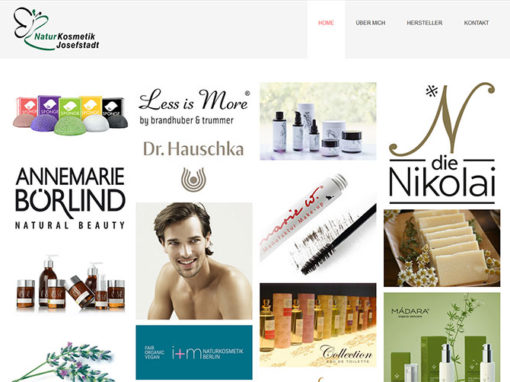 Website Naturkosmetik