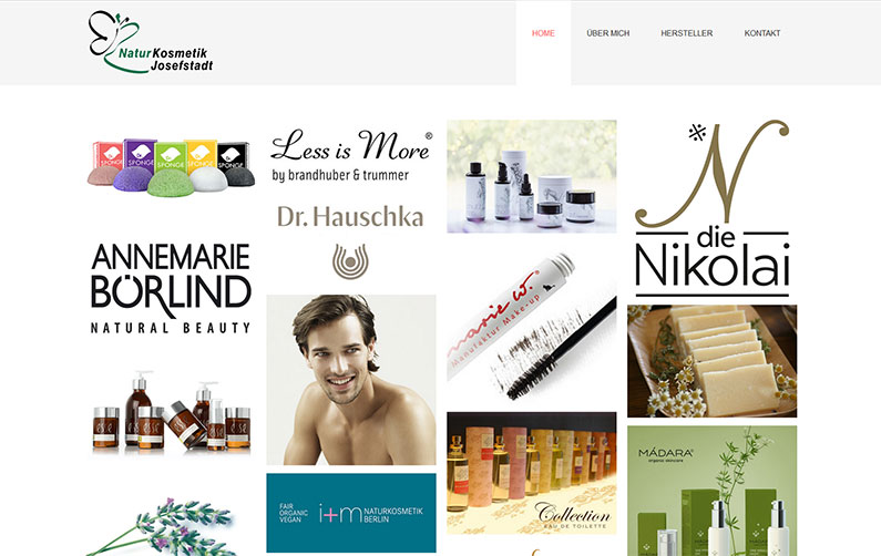 Website Naturkosmetik