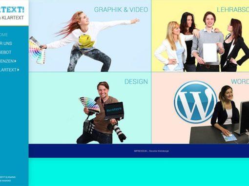 Website Weiterbildung Klartext