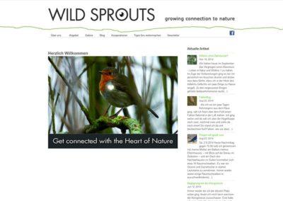 Website Natur und Wildnis