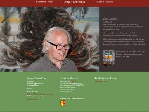 Website Anton Lehmden