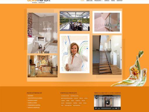 Website Glas Marton