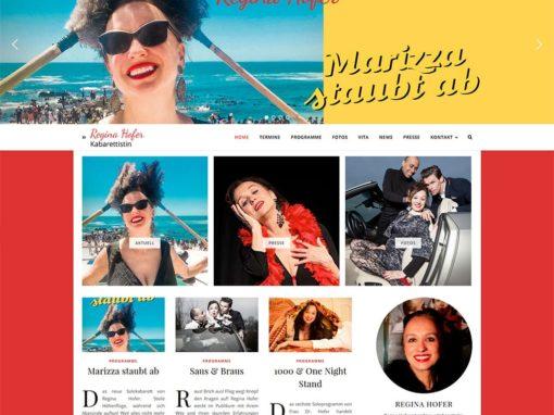 Website Regina Hofer